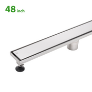 BAI 0581 Stainless Steel 48-inch Linear Shower Drain