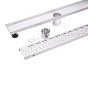 BAI 0592 Stainless Steel 60-inch Linear Shower Drain