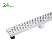 BAI 0588 Stainless Steel 24-inch Linear Shower Drain