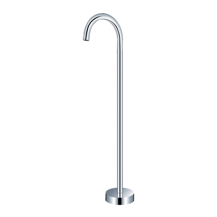BAI 0622 Freestanding Bathtub Spout in Polished Chrome Finish