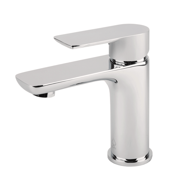 BAI 0623 Single Handle Contemporary Bathroom Faucet in Brushed Finish