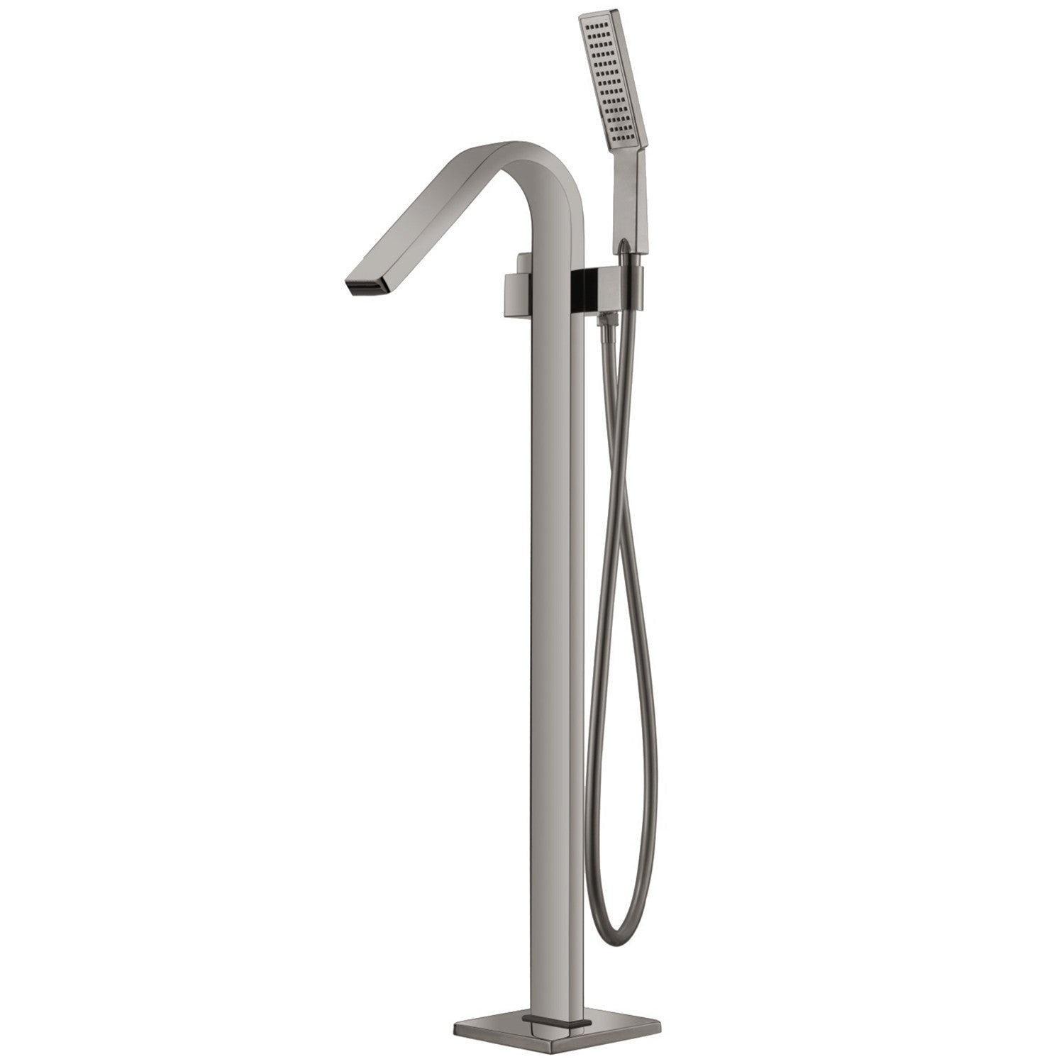 Bai 0657 Freestanding Bathtub Faucet Brushed Nickel Megabai