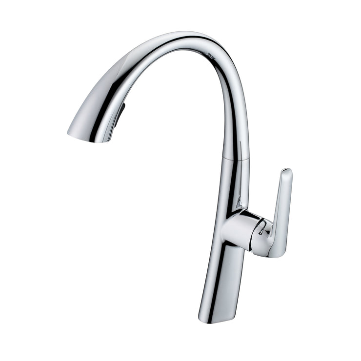BAI 0658 Kitchen Faucet / Single Handle / Pull Down Hand Spray / Polished Chrome