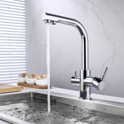 BAI 0663 Kitchen Faucet / Integrated Drinking Water Faucet / Two In One / Polished Chrome