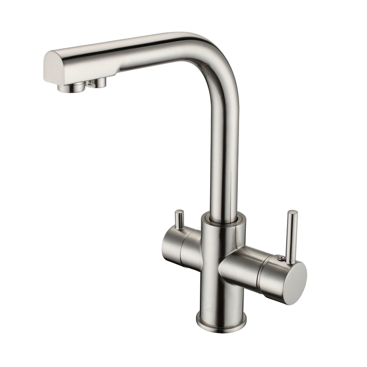 BAI 0664 Kitchen Faucet / Integrated Drinking Water Faucet / Two In One /  Brushed Finish