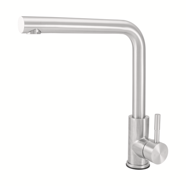 BAI 0675 Stainless Steel Single Handle Kitchen Faucet in Brushed Finish