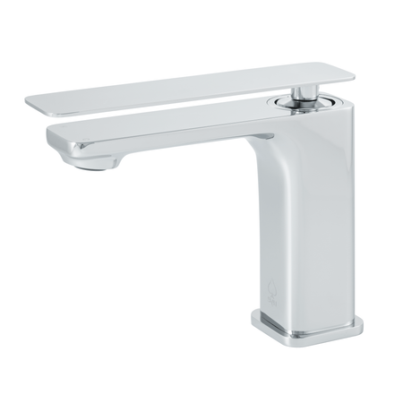 BAI 0683 Single Handle Contemporary Bathroom Faucet in Polished Chrome Finish