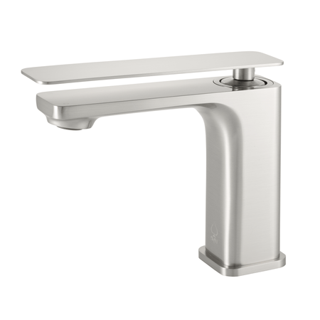 BAI 0684 Single Handle Contemporary Lavatory / Bathroom Faucet / Brushed Finish