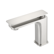 BAI 0684 Single Handle Contemporary Bathroom Faucet in Brushed Finish