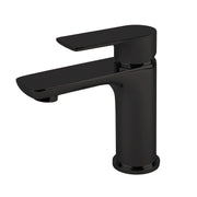 BAI 0689 Single Handle Contemporary Bathroom Faucet in Matte Black Finish