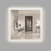 BAI 0796 LED 36-inch Bathroom Mirror with Frosted Edge