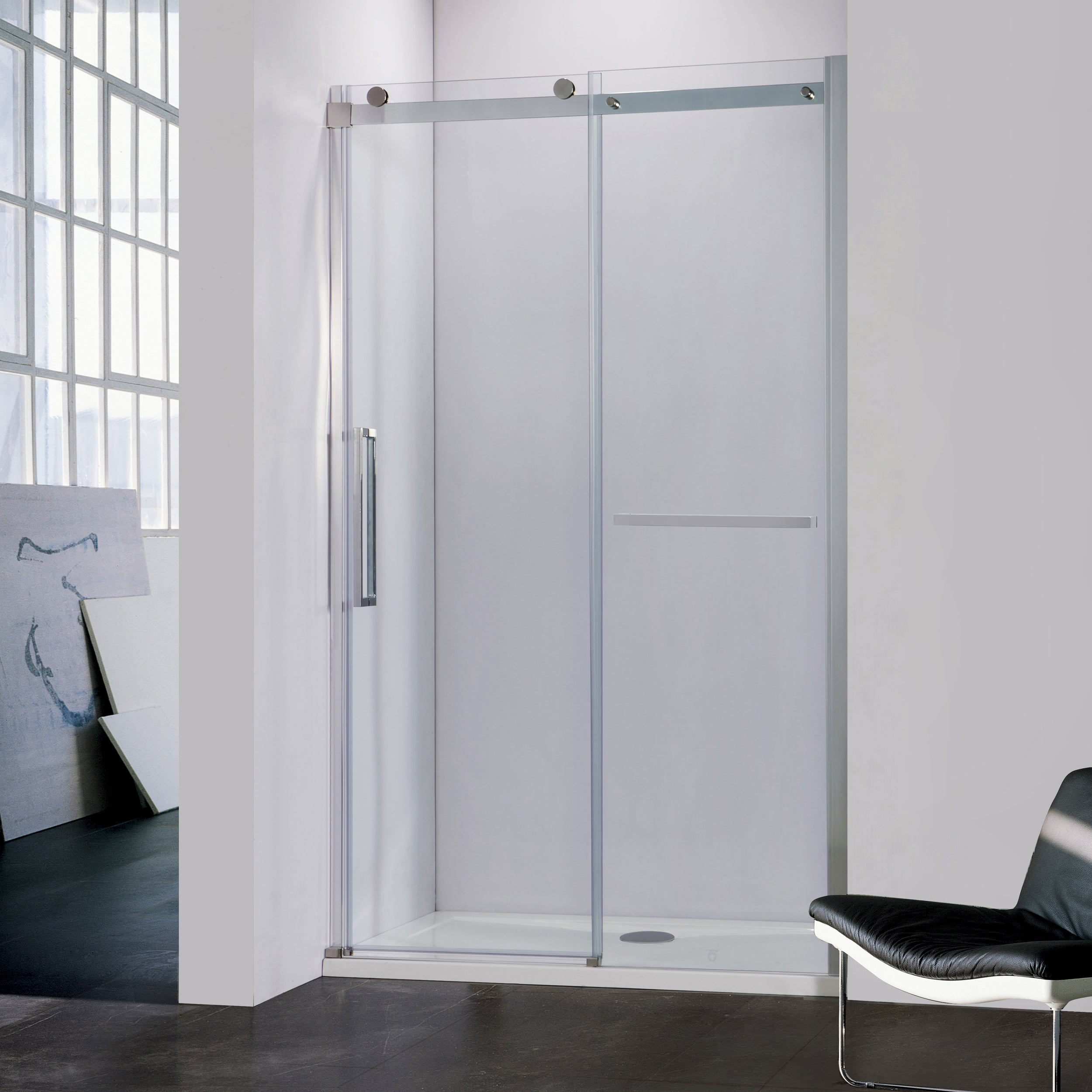 Bai 0922 Frameless Sliding Glass Shower Enclosure 60 Megabai