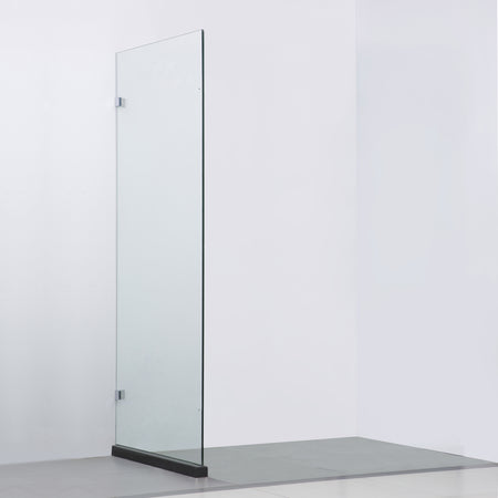 BAI 0929 Frameless Glass Shower Enclosure / Reversible Side Panel - 36""
