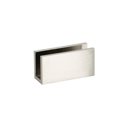 BAI 0940 Fixed Glass Shower Panel Bracket (Brushed Nickel)