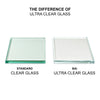 BAI 0942 Frameless 32-inch Ultra Clear Single Shower Glass Panel