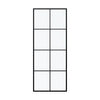 BAI 0946 Frameless 32-inch Ultra Clear Single Shower Glass Panel with Silk Printed Window-Pane