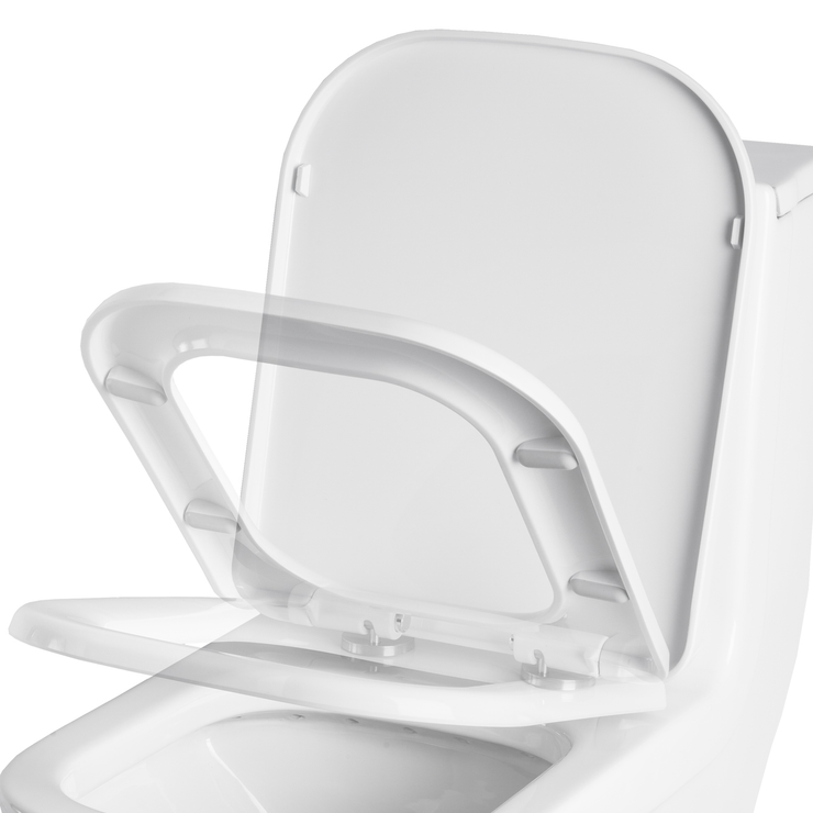 PARTS - Soft Close Seat Replacement for BAI 1007 Toilet With Quick Release Option