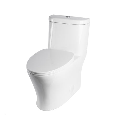 BAI 1008 Contemporary Toilet – One Piece Dual Flush with Soft-Close Seat