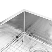 BAI 1228 Stainless Steel 16 Gauge Kitchen Sink Handmade 33-inch Undermount Double Bowl