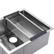 BAI 1246 Stainless Steel 16 Gauge Kitchen Sink Handmade 21-inch Undermount Single Bowl