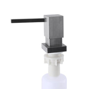 BAI 1263 Square Soap Dispenser in Brushed Finish