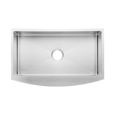 BAI 1289 Stainless Steel 16 Gauge Kitchen Sink Handmade 30-inch Farmers Single Bowl
