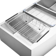 BAI 1299 Farmers / Apron Single Bowl Kitchen Sink Handmade Stainless Steel 48""