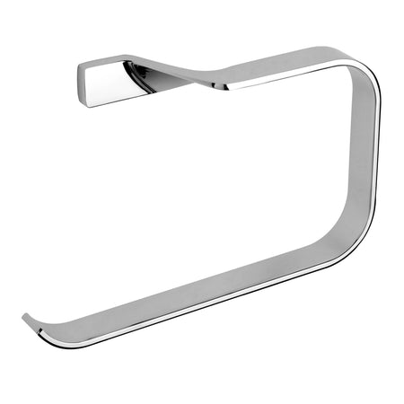 BAI 1501 Towel Ring in Polished Chrome Finish