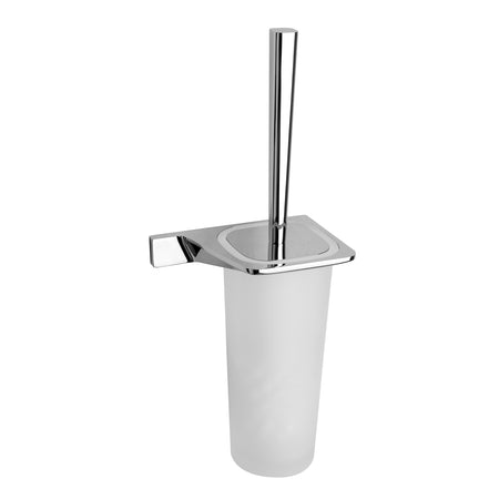 BAI 1508 Toilet Brush with Holder in Polished Chrome Finish
