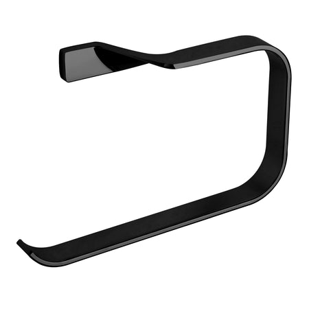 BAI 1510 Towel Ring in Matte Black Finish