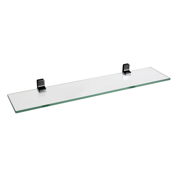 BAI 1515 Glass Shelf in Matte Black Finish