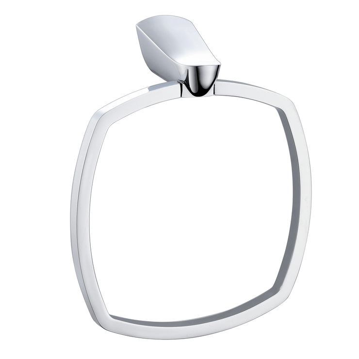 BAI 1536 Towel Ring in Polished Chrome Finish