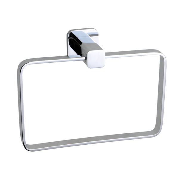 BAI 1544 Towel Ring in Polished Chrome Finish