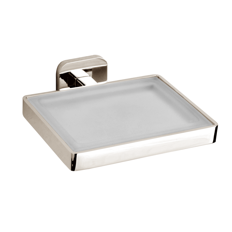 BAI 1555 Soap Dish in Brushed Nickel Finish