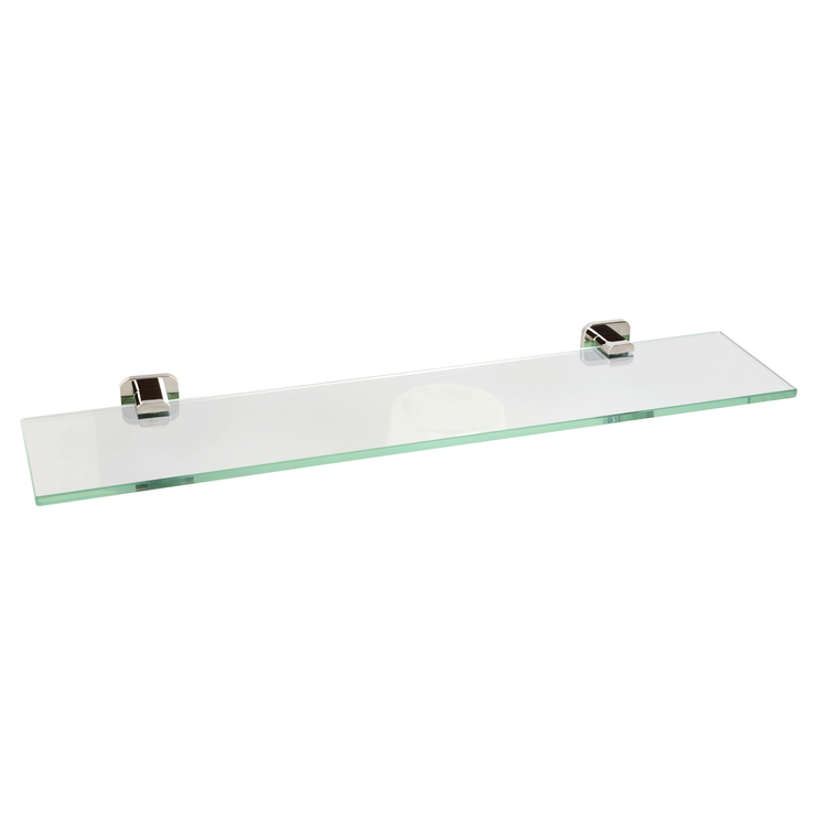 BAI 1559 Glass Shelf in Brushed Nickel Finish