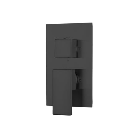 BAI 2103 Concealed Shower Mixer with Water Pressure Balance Valve in Matte Black Finish