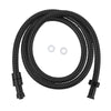 BAI 2112 Super-Flex Stainless Steel Shower Hose in Matte Black Finish