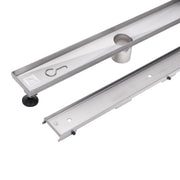 BAI 0578 Tile - Insert Stainless Steel Linear Shower Drain 48""