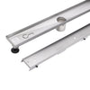 BAI 0578 Stainless Steel 48-inch Tile Insert Linear Shower Drain