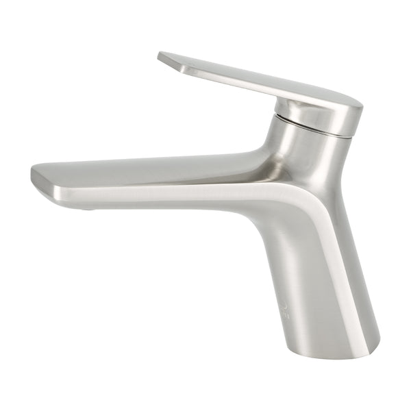 BAI 2602 Single Handle Contemporary Bathroom Faucet in Brushed Finish
