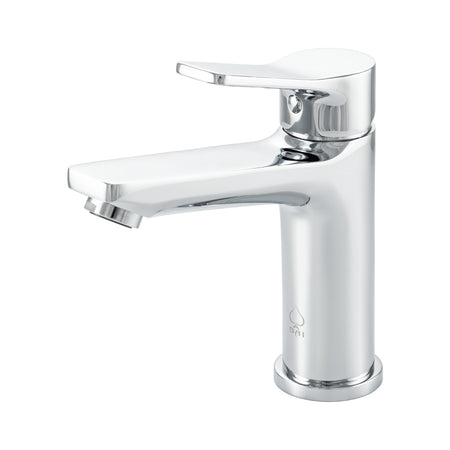 BAI 2605 Single Handle Contemporary Bathroom Faucet in Polished Chrome Finish