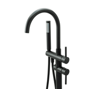 BAI 2620 Freestanding Bathtub Faucet in Matte Black Finish