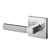 BAI 3020 Inactive Modern Dummy Door Handle Lever Set
