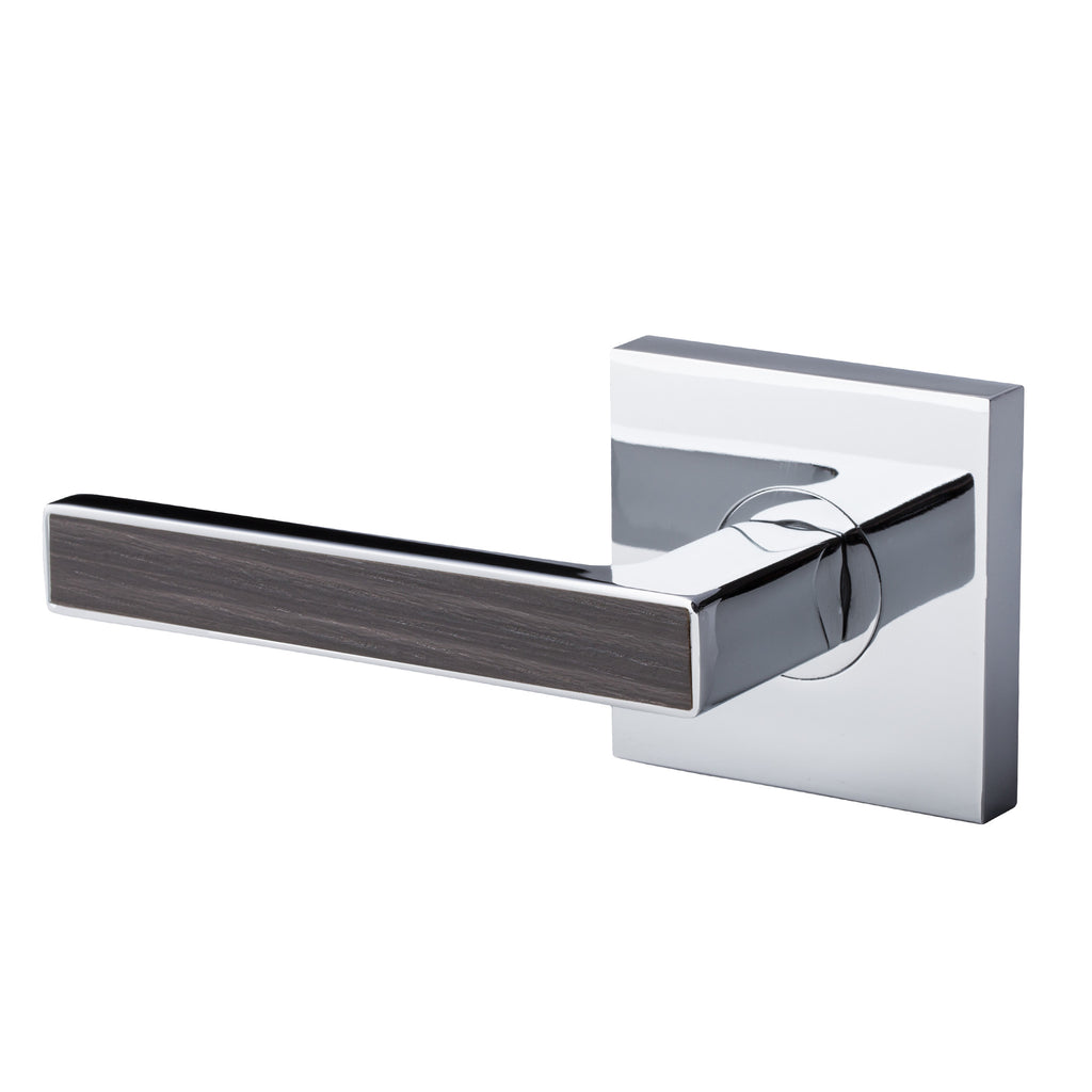 BAI 3057 Inactive / Dummy Modern Door Lever / Handle Set With Interchangeable Faceplates