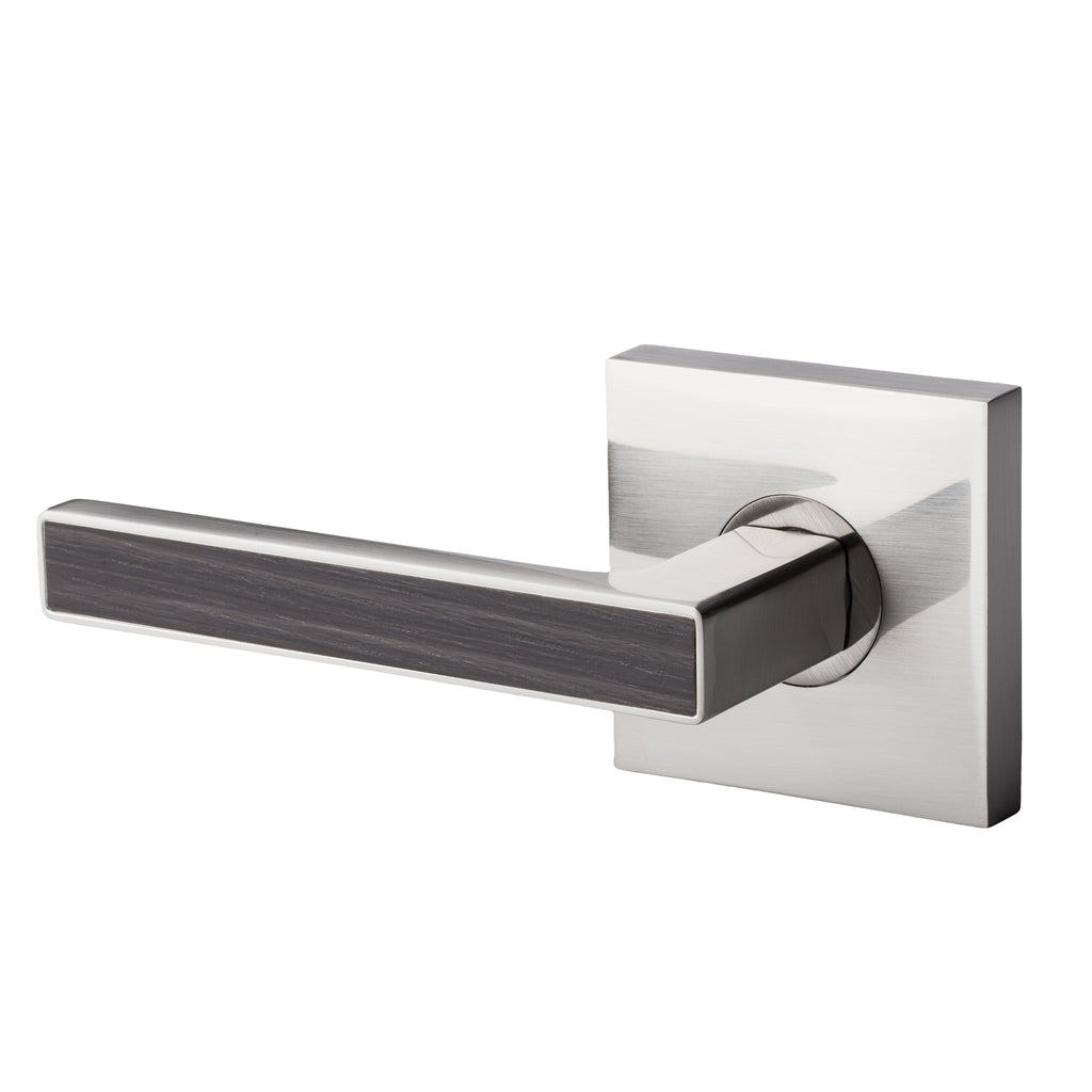 BAI 3059 Inactive / Dummy Modern Door Lever / Handle Set With Interchangeable Faceplates