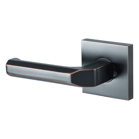 BAI 3060 Modern Passage Door Handle Lever Set with Privacy Pin Function