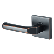 BAI 3061 Inactive Modern Dummy Door Handle Lever Set