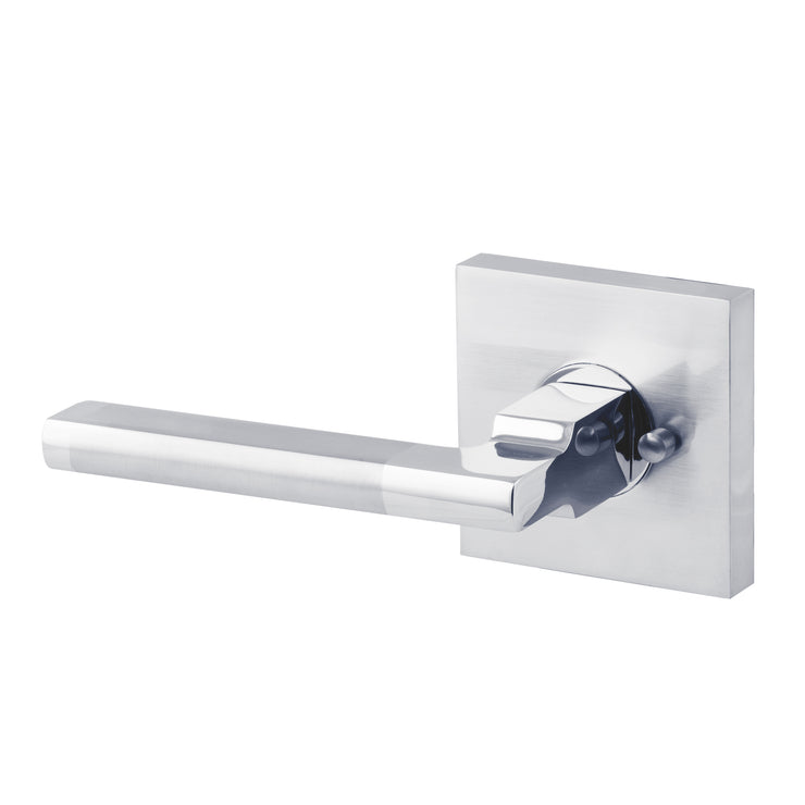 BAI 3072 Passage / Privacy Modern Door Lever / Handle Set
