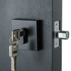 BAI 3090 Deadbolt / Square Rosette / Matte Black Finish