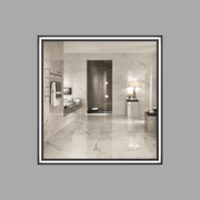 BAI 8044 LED 34-inch Bathroom Mirror with Aluminum Frame